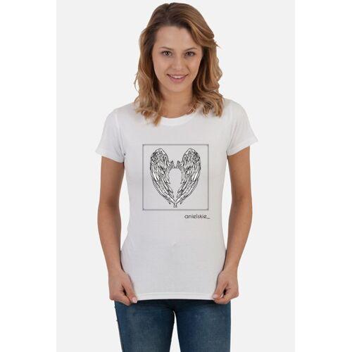anielskieskrzydlo T-shirt anielskie   biały