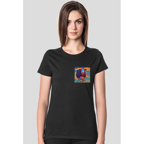 mazbike Koszulka z kieszonkową krową