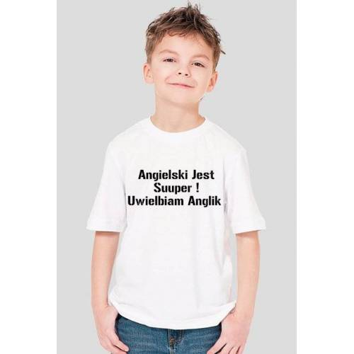 nauka Koszulka boy angielski