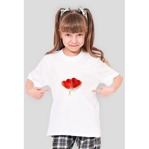 anians Podkoszulek dziewczęcy serca