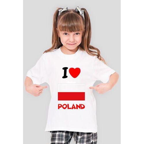 xoenpl I love poland dziecięca (dziewczęca)