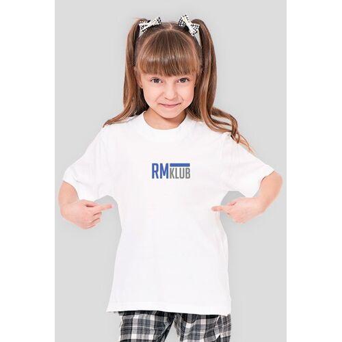 RMKlub T-shirt dziewczęcy