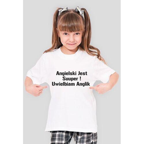 nauka Koszulka girl angielski