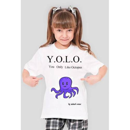 Suburbwear Piżama octopus girls