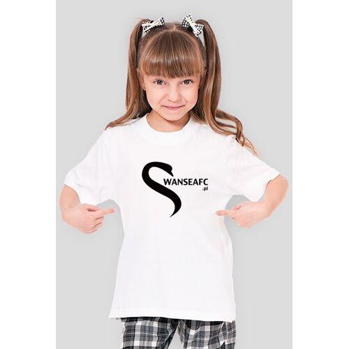 swans Koszulka dla dziewczynek