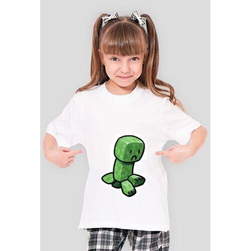 Saszek - koszulka dla dzieci (crepper - meat) - dziewczęca