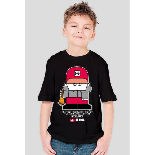 pada Koszulka dla chłopca - dzwonek. pada