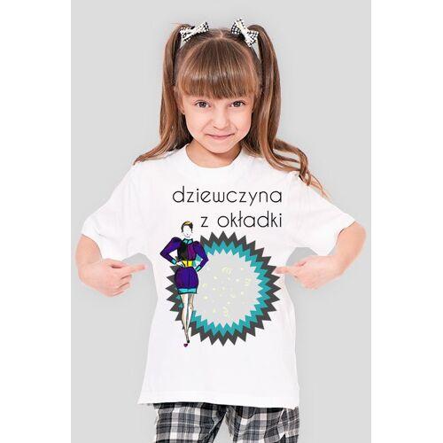 olborska Dziewczyna z okładki - dziewczęcy t-shirt