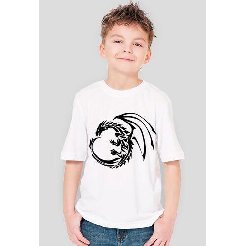 ciasia Smok black-koszulka dziecięca