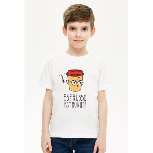 fun21 Koszulka dziecięca - espresso patronum!