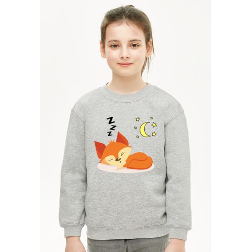 moje-dziecko śpiący lis dziecko piżama ciepła
