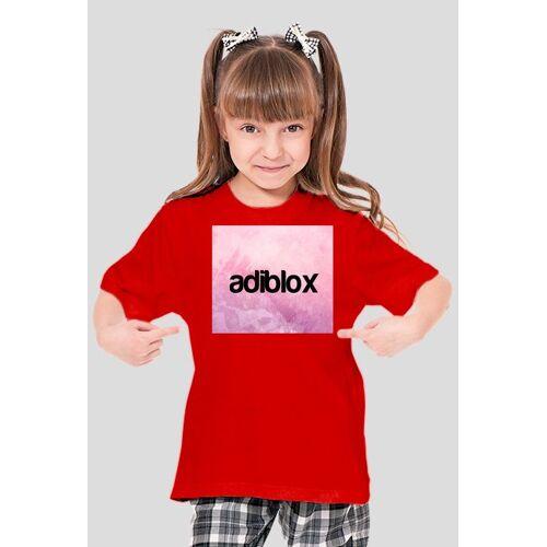 Adiblox koszulka dla dziewcząt