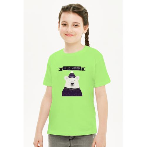 swiateczny Koszulka świąteczna dla dziecka
