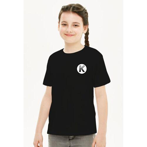 Kapiwear T-shirt dziewczęce kapi (małe logo)