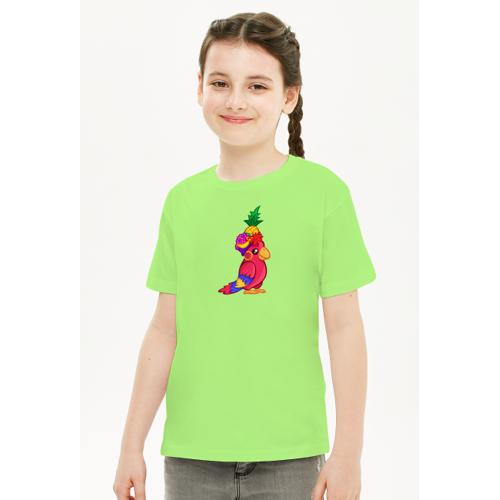 nsrf T-shirt z papużką