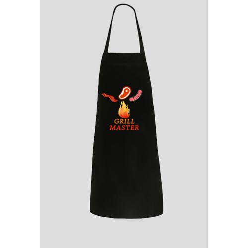 jm-sklep Fartuch dla mistrza grillowania, idealny na prezent
