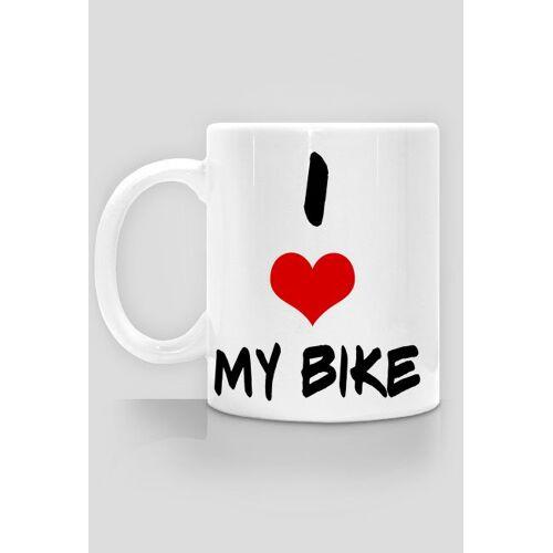 rowerowy I love my bike- kubek