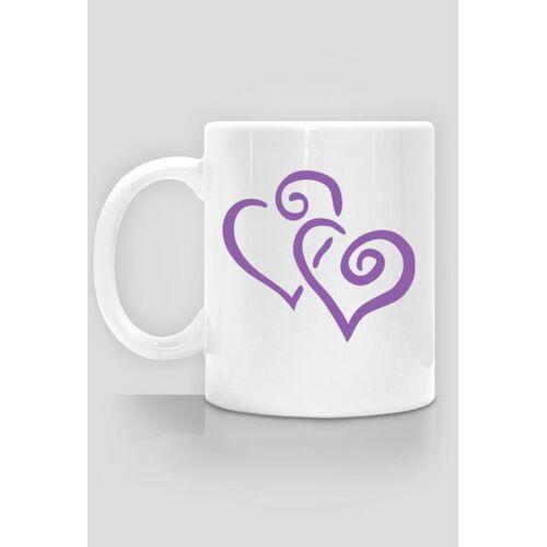megart Kubek ceramiczny serca