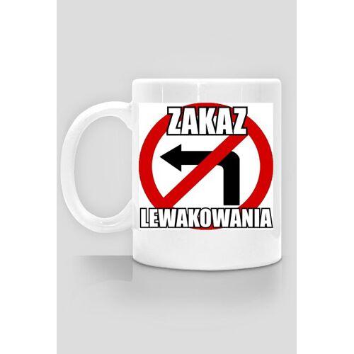 mkc Zakaz lewakowania - kubek