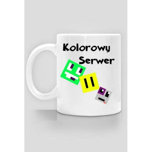 kolorowys Kubek kolorowy serwer