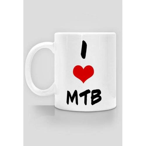 rowerowy I love mtb- kubek