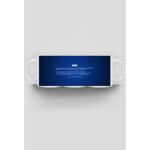 EdVestes Blue screen - kubek