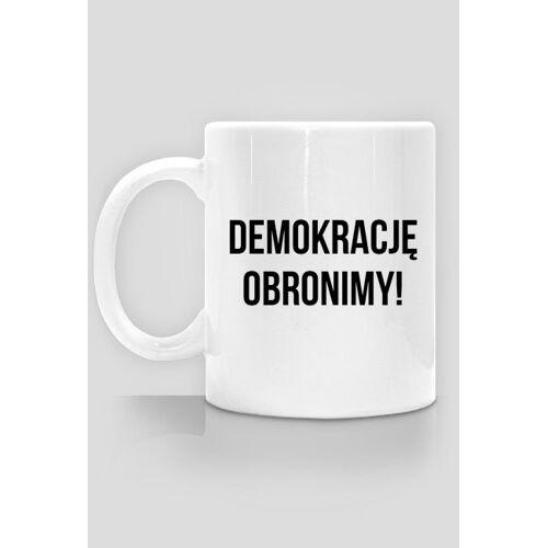 obronademokracji Demokrację obronimy - kubek