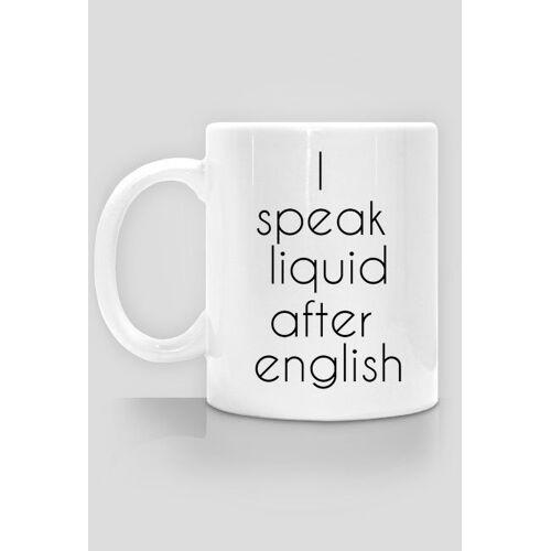 """angielskiztuskiem Kubek """"mówię płynnie po angielsku"""""""
