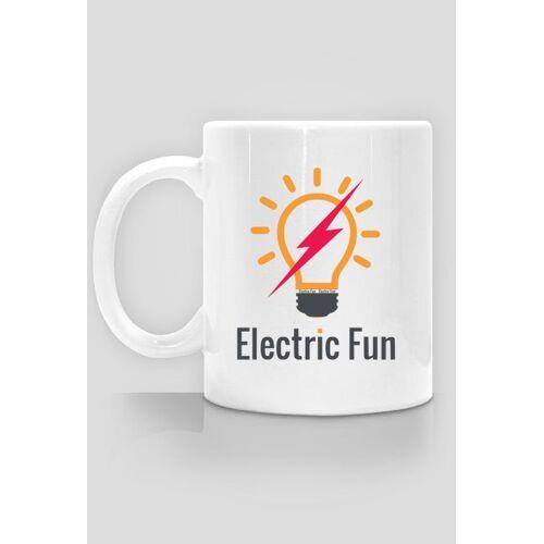 electricfun Kubek z logo electric fun