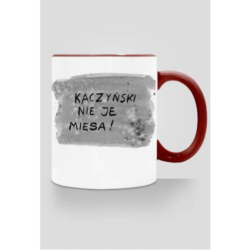 politycynamury Kaczyński nie je mięsa