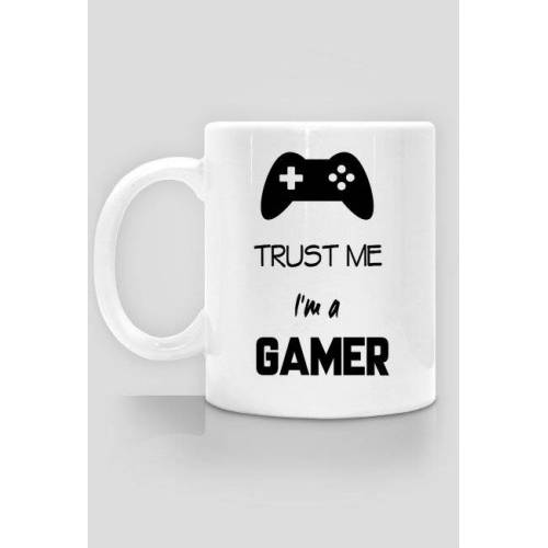 specjalneokazje Trust me i`m a gamer- kubek
