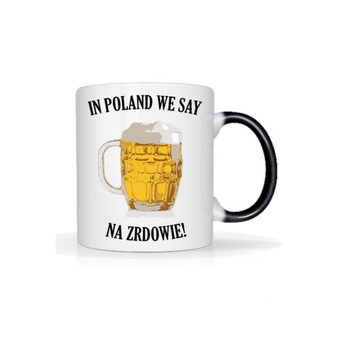 """extra_gadzety Kufel piwa - in poland we say """"na zdrowie"""""""