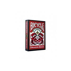Bicycle Karty Dragon Blue back BICYCLE