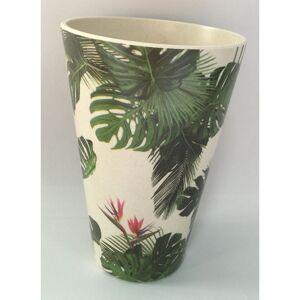 Ekologiczny kubek bambusowy - Tropikalna rolina