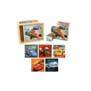 Brimarex Puzzle klocki drewniane Brimarex Disney CARS (4413S_CAR-B)