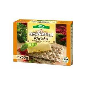 Allos Pieczywo chrupkie amarantusowe 250 g bio