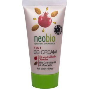 Neobio Krem do twarzy bb z granatem i olejem migdaowym eko 30 ml