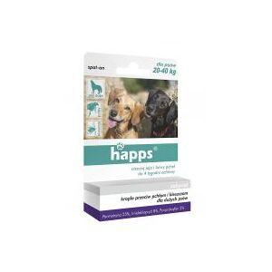 Bros Happs Krople dla duych psw przeciw pchom i kleszczom