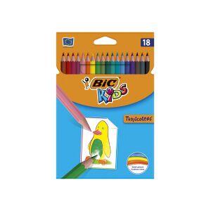 Bic Kredki Tropicolors 2 18 kolorw