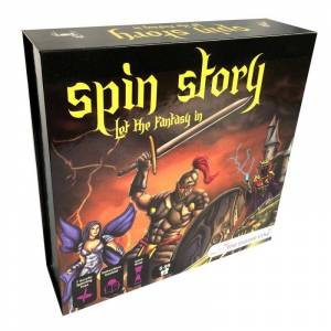 The Purple Cow Gra edukacyjna - spin story