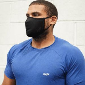 MP Anti-Viral Filtered Face Mask - Black