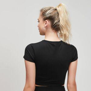 MP Damska krótka koszulka z krótkimi rękawami Power MP – czarna - XL