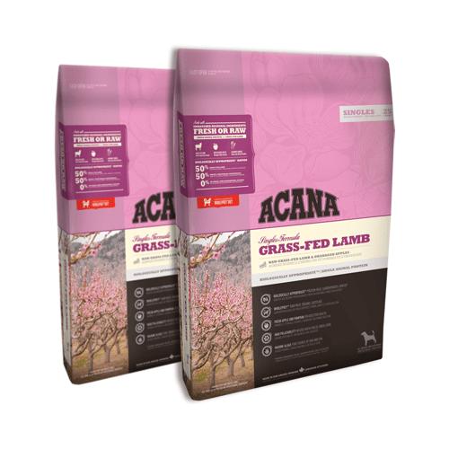 Acana Singles Grass Fed Lamb 2x11,4kg