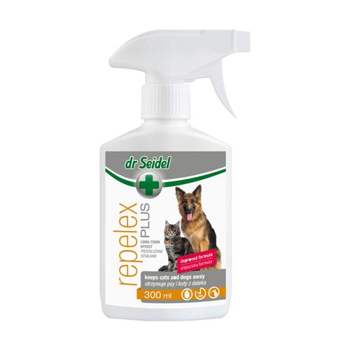 Dr Seidel Repelex Plus Płyn odstraszający psy i koty 300ml - Do każdego zamówienia dodaj prezent. Bez dodatkowych wymagań - tak łatwo jeszcze nie było!