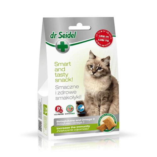 Dr Seidel Smakołyki dla kotów na odporność 50g x 8