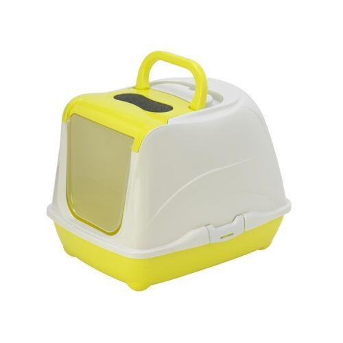 Yarro Moderna Flip Cat Toaleta dla kota z filtrem 50x39x37cm + łopatka limonkowe - Do każdego zamówienia dodaj prezent. Bez dodatkowych wymagań - tak łatwo jeszcze nie było!