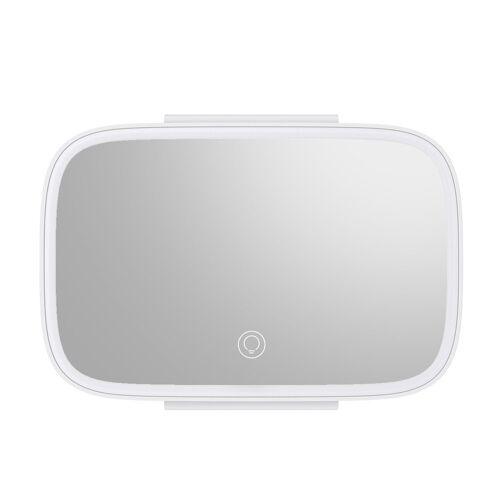 Baseus [PO ZWROCIE] Baseus podświetlane lusterko LED samochodowe do makijażu biały (CRBZJ01-02)