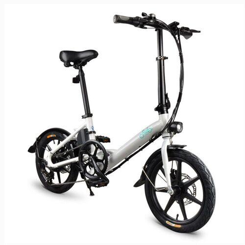 364600PLDF FIIDO D3S Składany rower elektryczny - biały