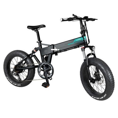367217PLDF Składany elektryczny rower górski FIIDO M1 – czarny