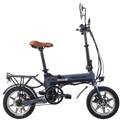 369750DEDF RICH BIT Składany elektryczny rower motorowerowy 14 '' TOP-619 250W 10,2Ah - szary